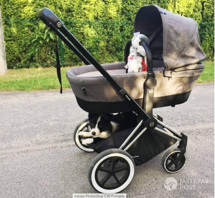 Małgorzata Socha sprawiła córce kosztowny wózek