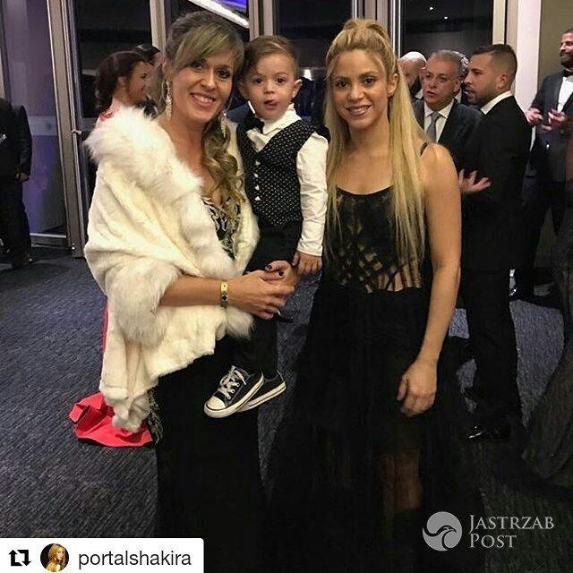Shakira na ślubie Leo Messiego