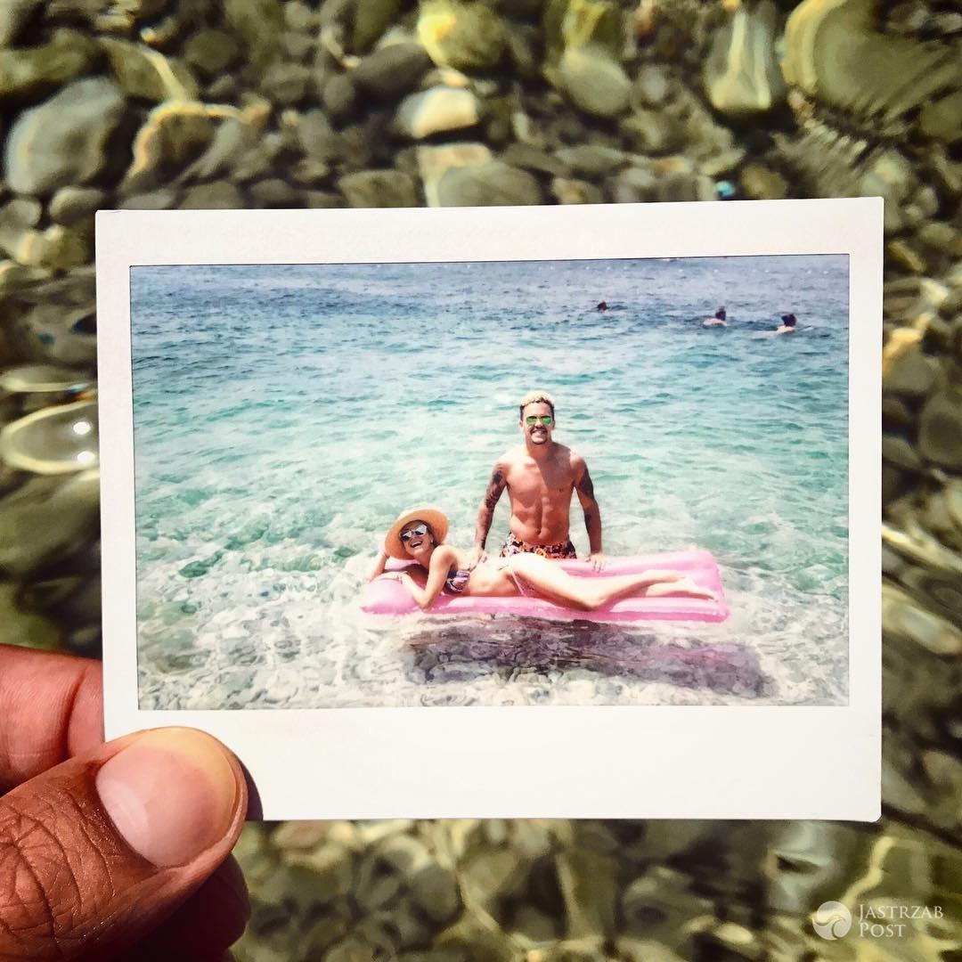 Tomek Torres z Afromental na wakacjach z dziewczyną