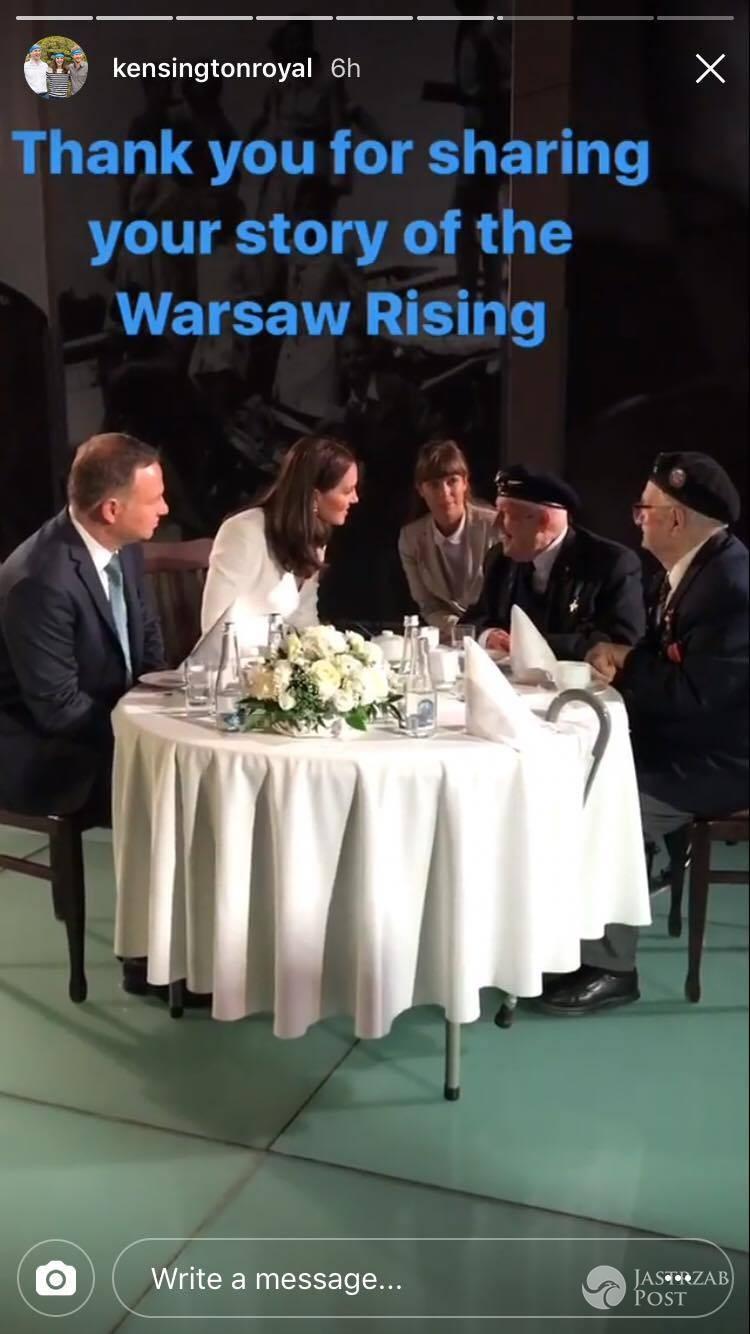 Co księżna Kate i książę William zjedli w Polsce?