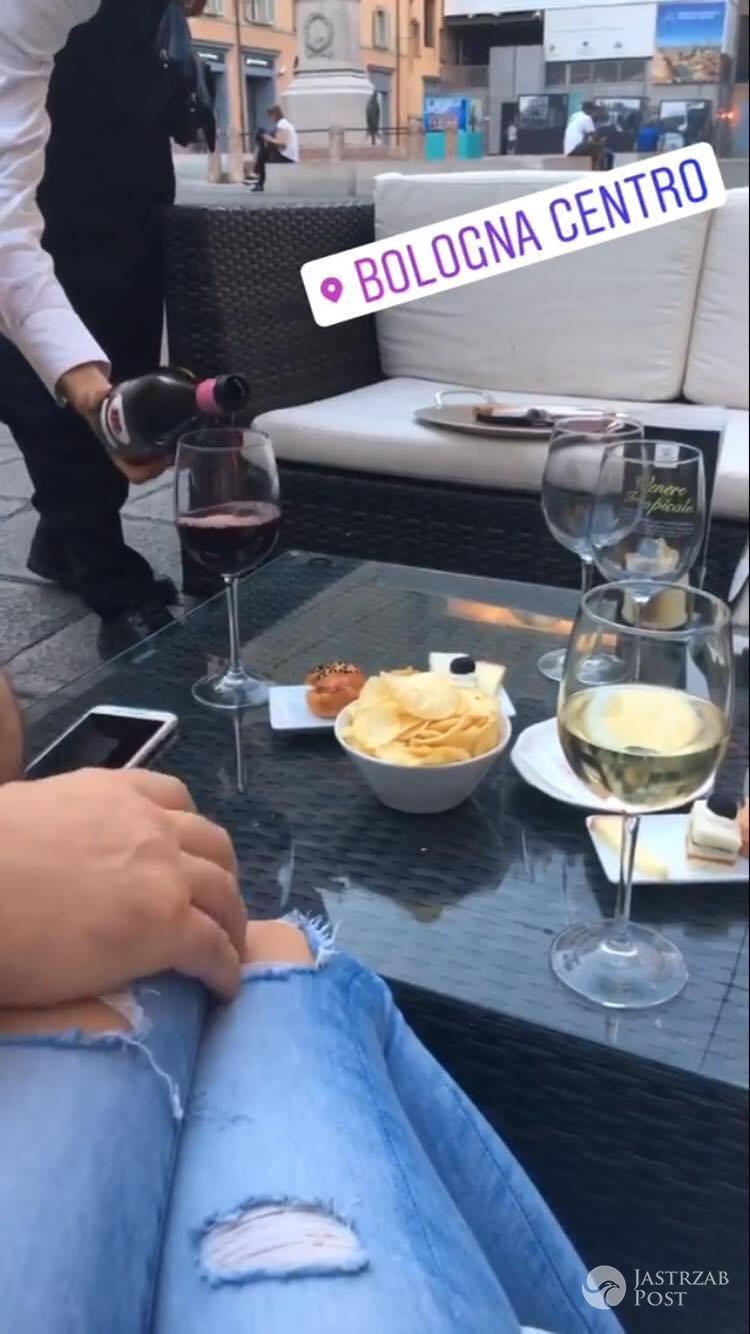 Roxi Gąska i Jacek Rozenek na randce we Włoszech
