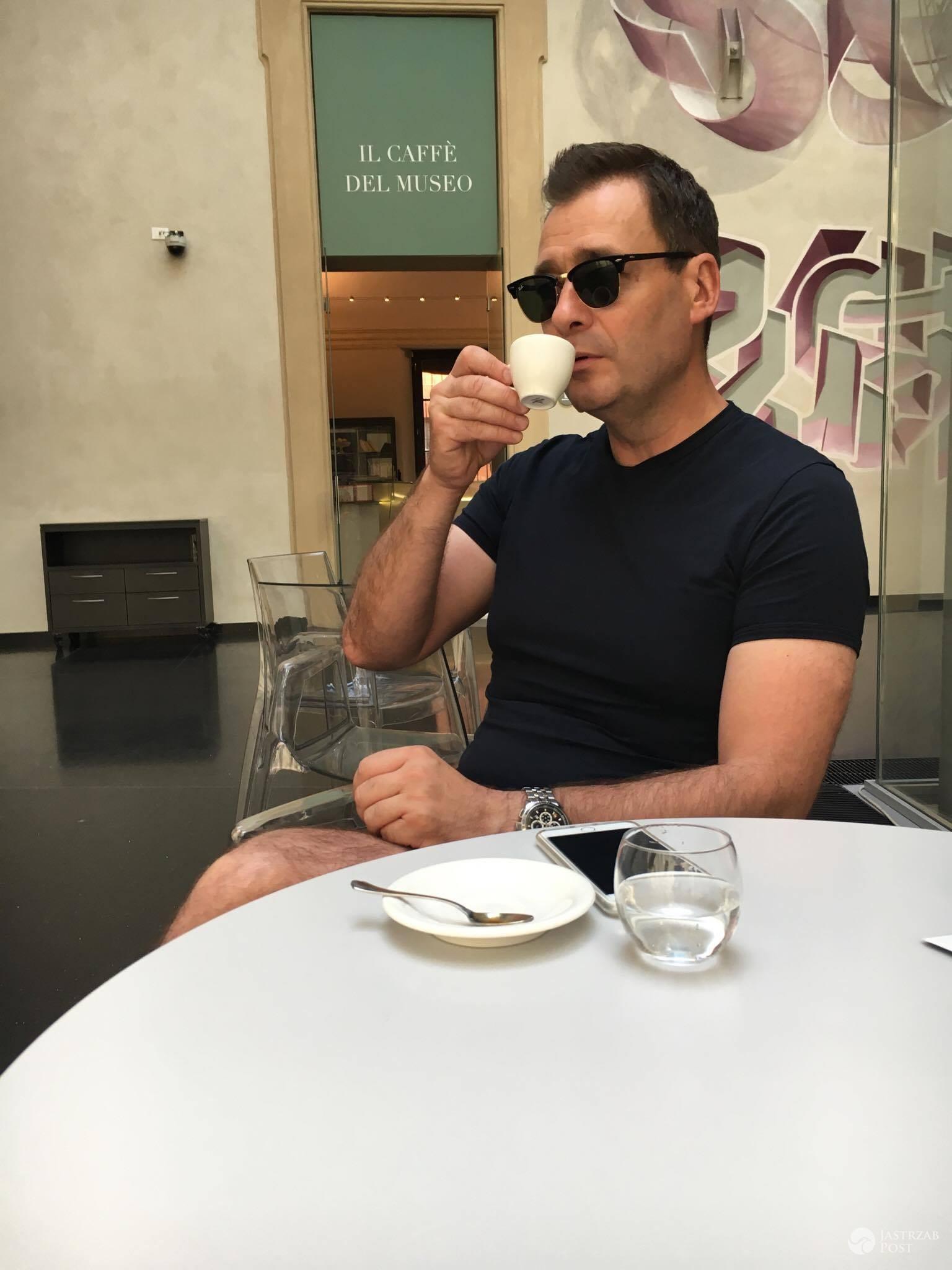 Jacek Rozenek we Włoszech