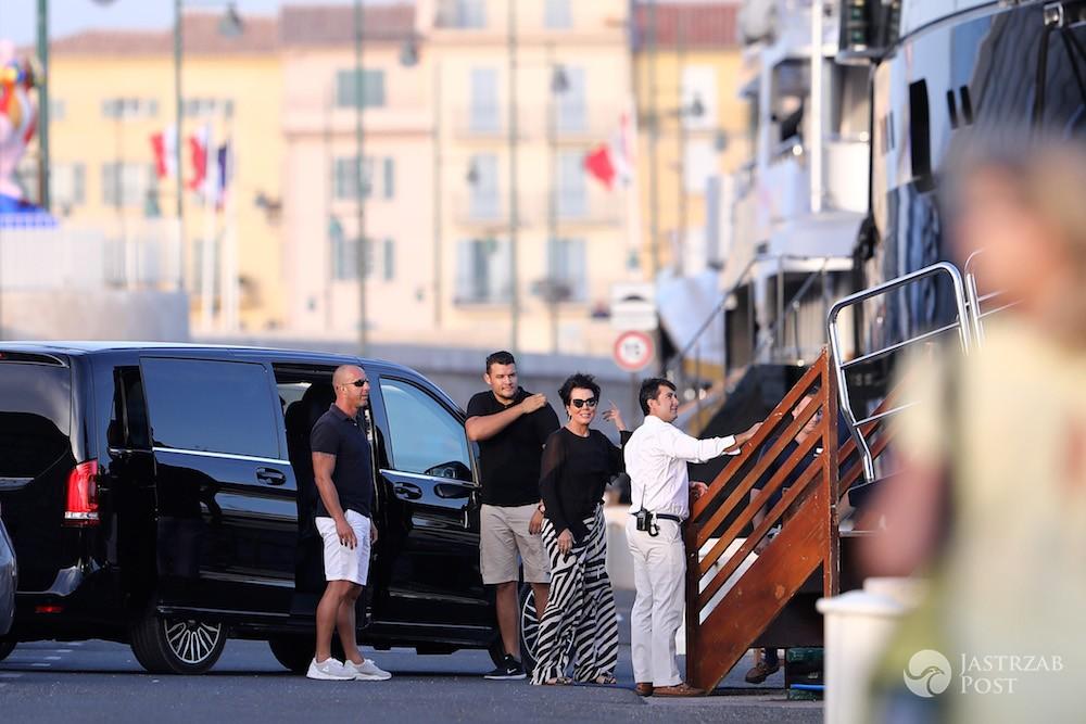 Kris Jenner na zakupach w Saint Tropez