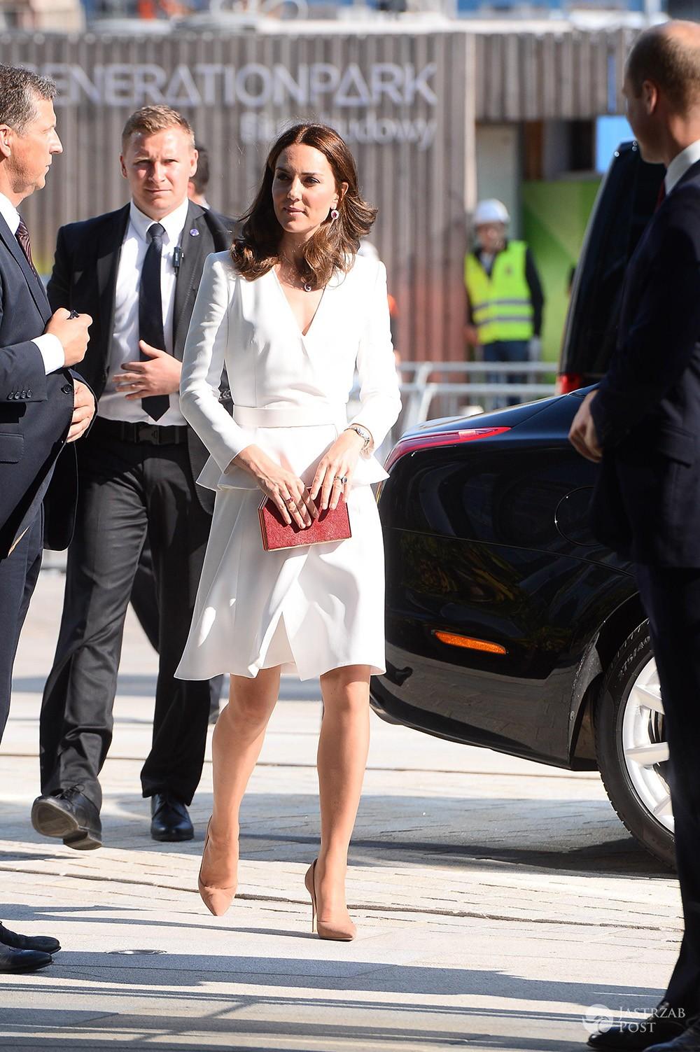 Księżna Kate w Polsce w sukience z przeceny