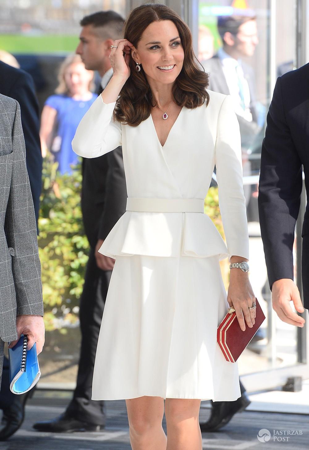 Księżna Kate w Warszawie w sukience Alexandra McQueena