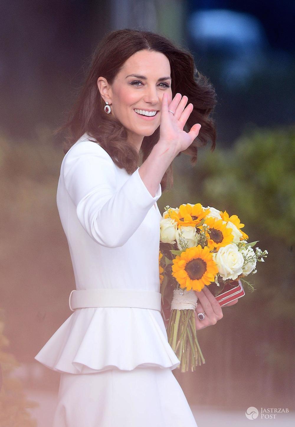 Księżna Kate oddała hołd Polakom