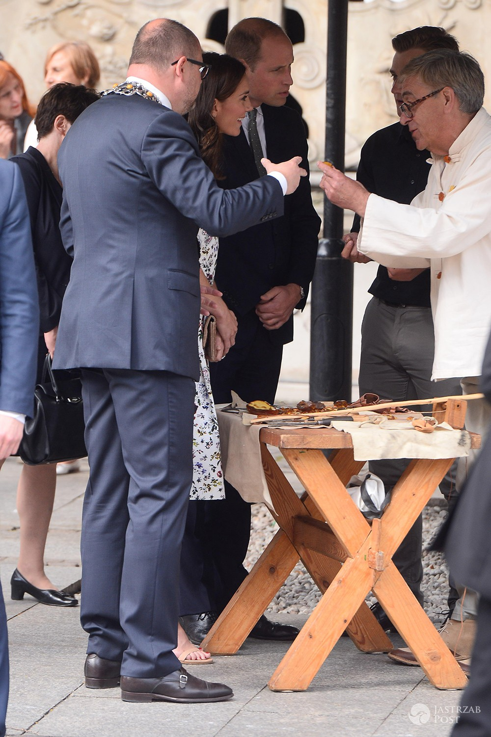 Co Kate i William zjedli w Gdańsku?