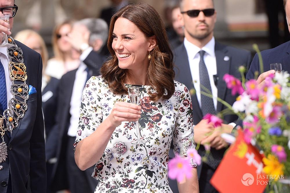 Księżna Kate skosztowała polskiej wódki