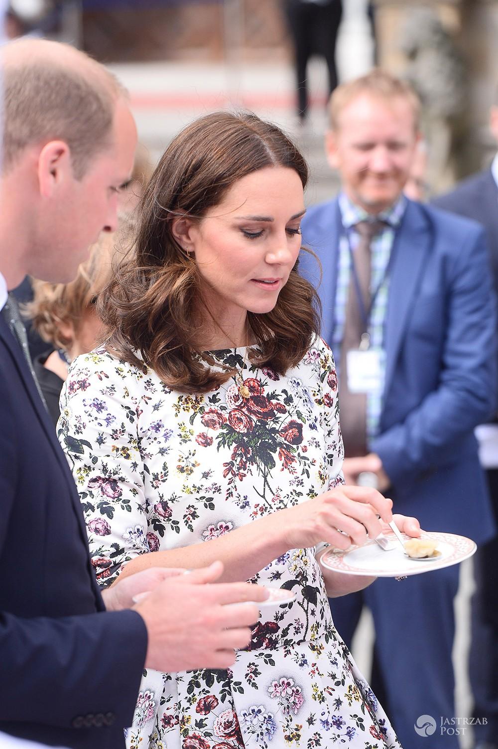 Księżna Kate i książę William zjedli polskie pierogi