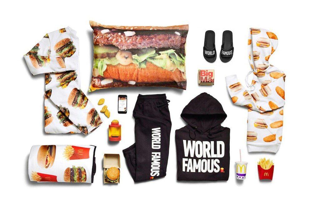 Kolekcja ubrań McDonalds