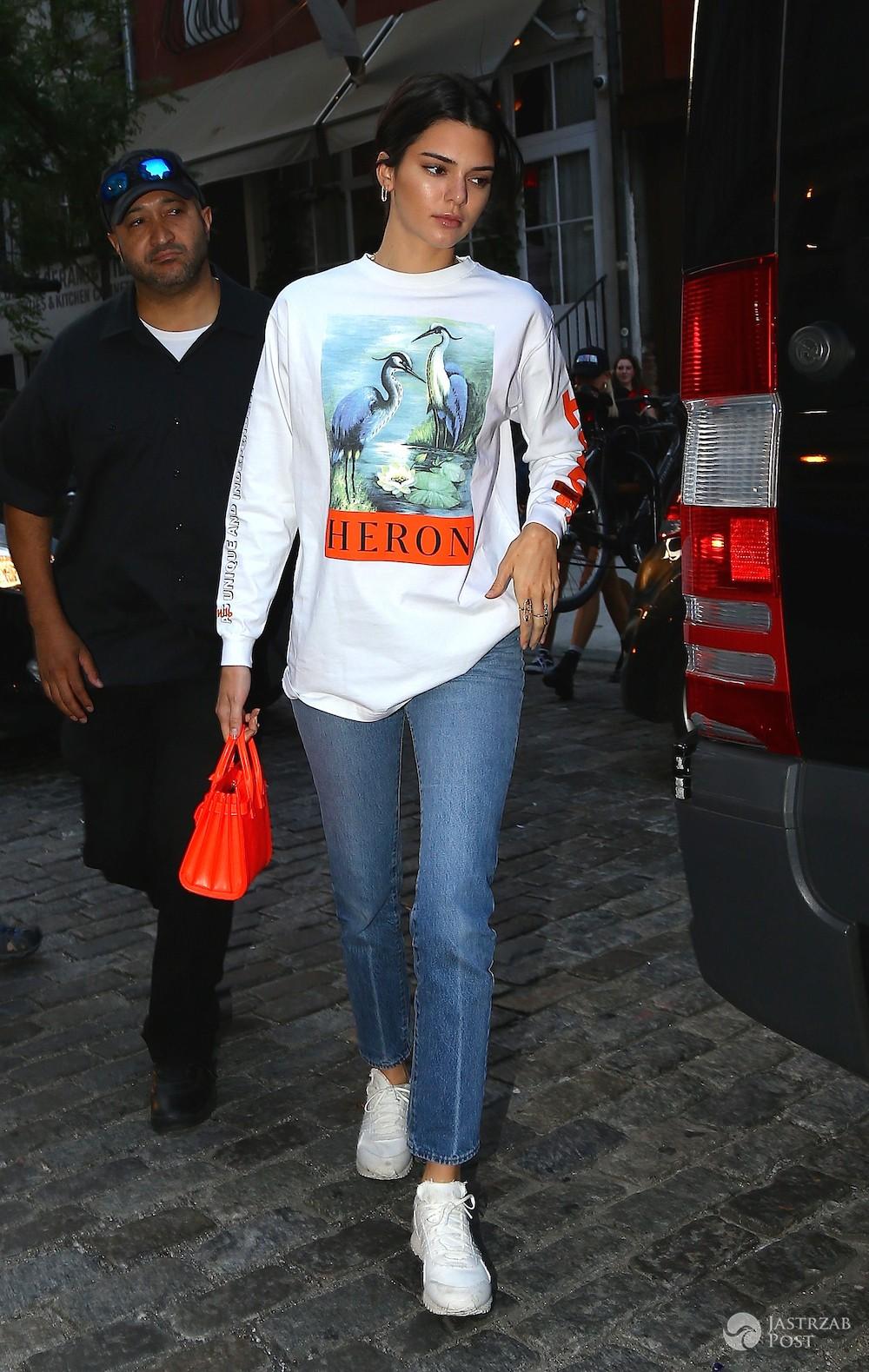 Kendall Jenner na co dzień