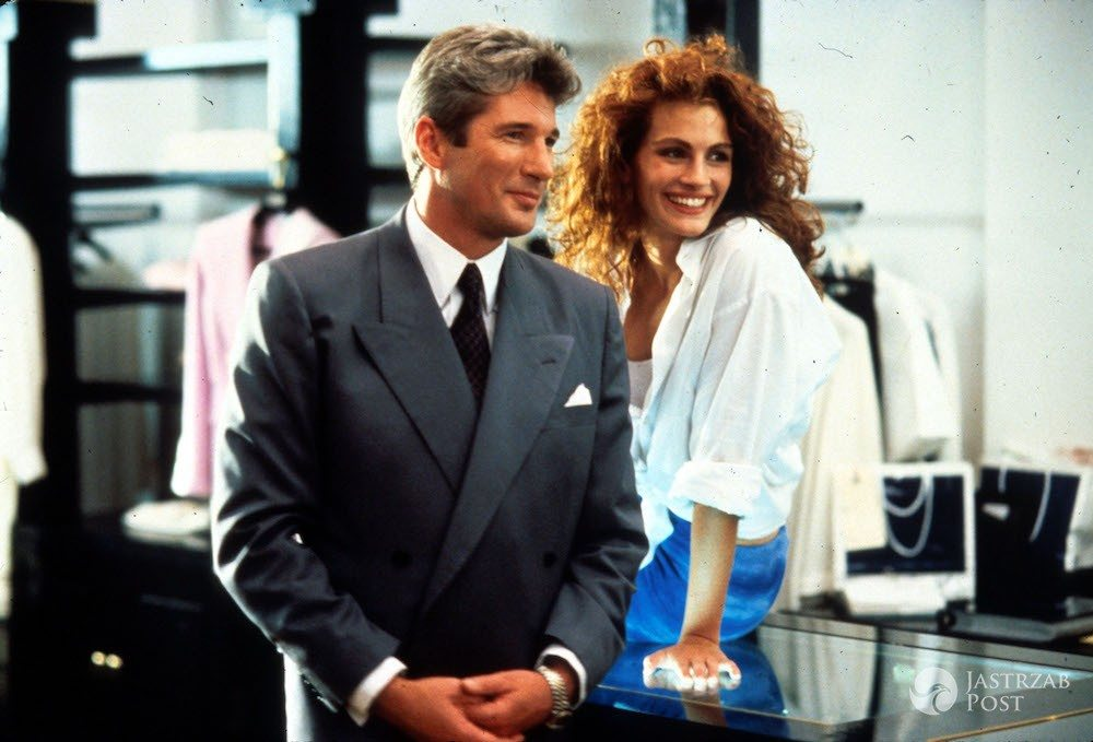 Pretty Woman - Julia Roberts i Richard Gere na planie filmu (1990 rok)