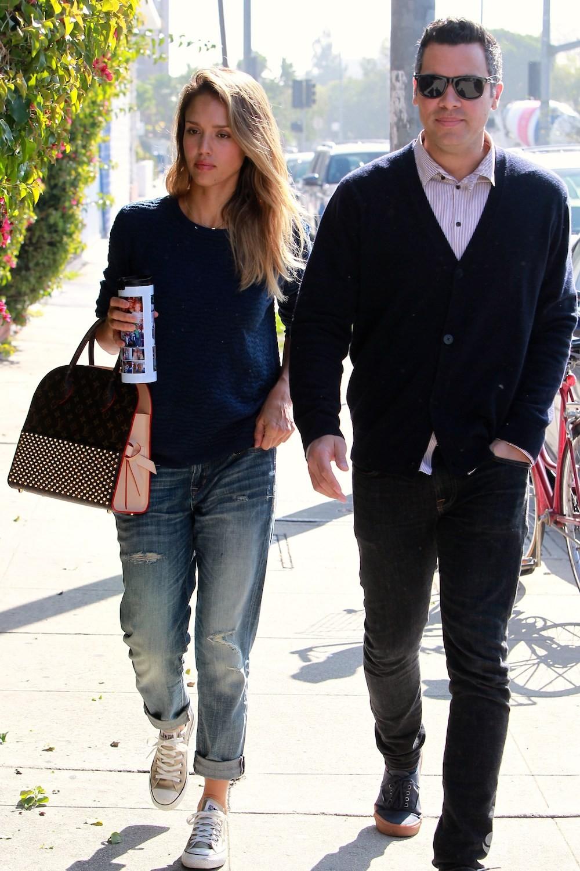 Jessica Alba i jej mąż Cash Warren