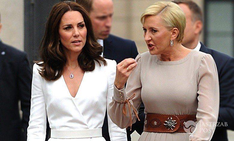Księżna Kate i Agata Duda