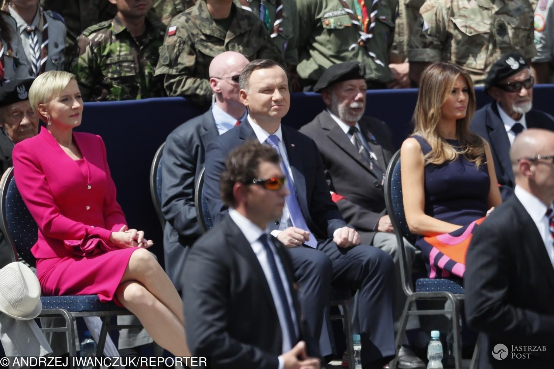 Przemówienie Melanii Trump w Warszawie
