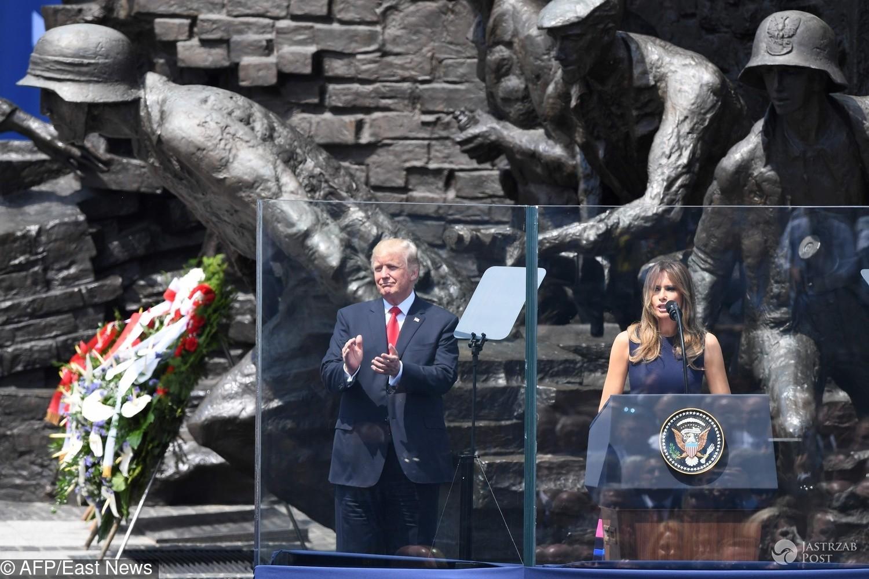 Melania Trump pierwsze przemówienie w jej karierze