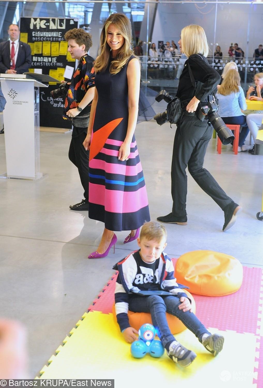 Melania Trump w Warszawie na warsztatach z dziećmi