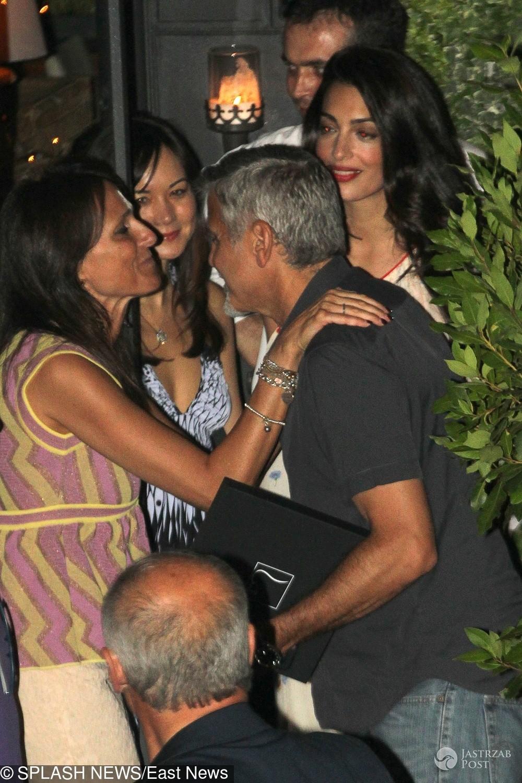 George i Amal Clooney pierwszy raz po urodzeniu bliźniąt