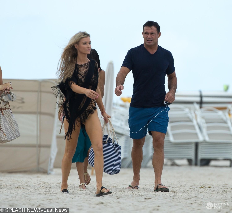 Joanna Krupa i Romain Zago świętowali rozwód na plaży