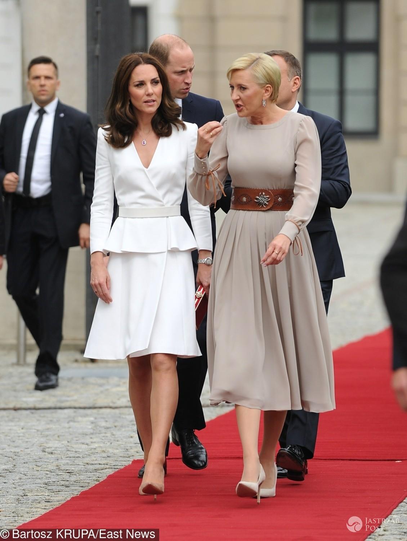 Agata Duda i księżna Kate w Warszawie - ocena stylizacji