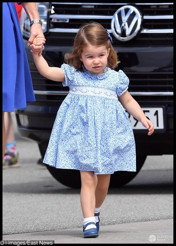 Księżniczka Charlotte wylatuje z Polski do Niemiec