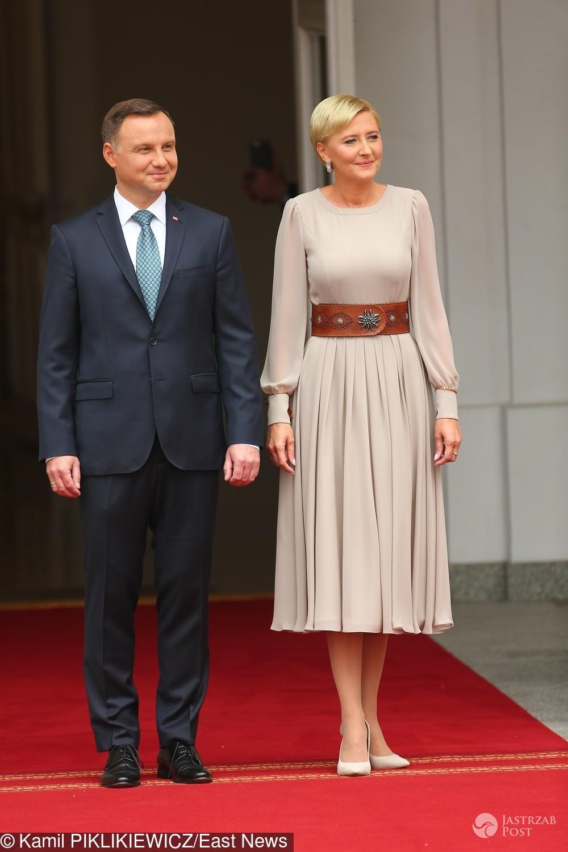 Andrzej i Agata Duda oczekują na księżną Kate i księcia Williama