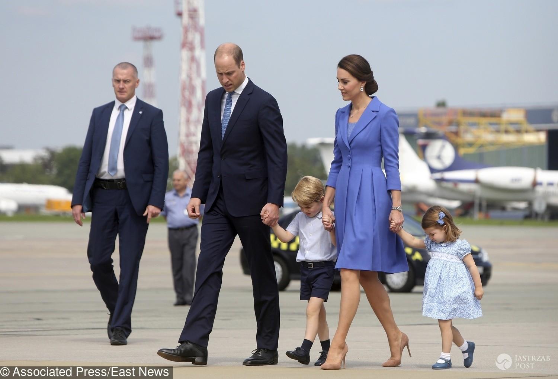Kate i William żegnają się z Warszawą