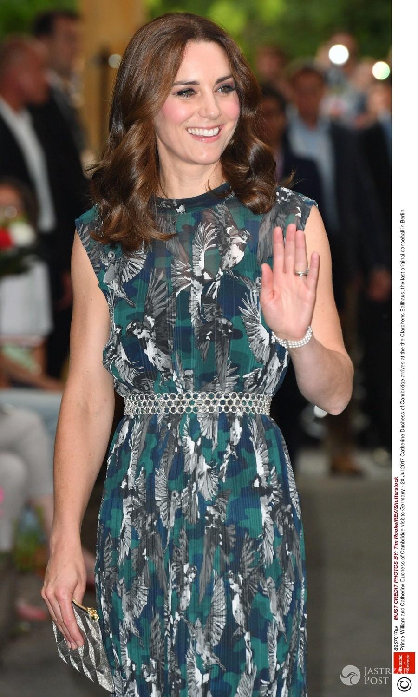Księżna Kate w finałowej stylizacji w Niemczech
