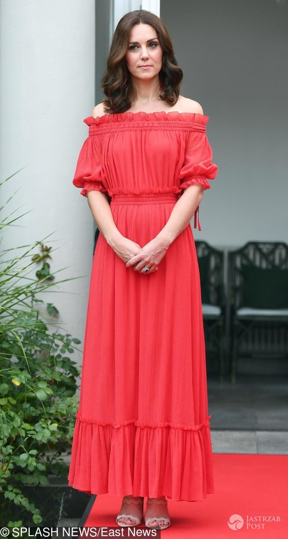 Księżna Kate w Berlinie w sukni Alexander McQueen