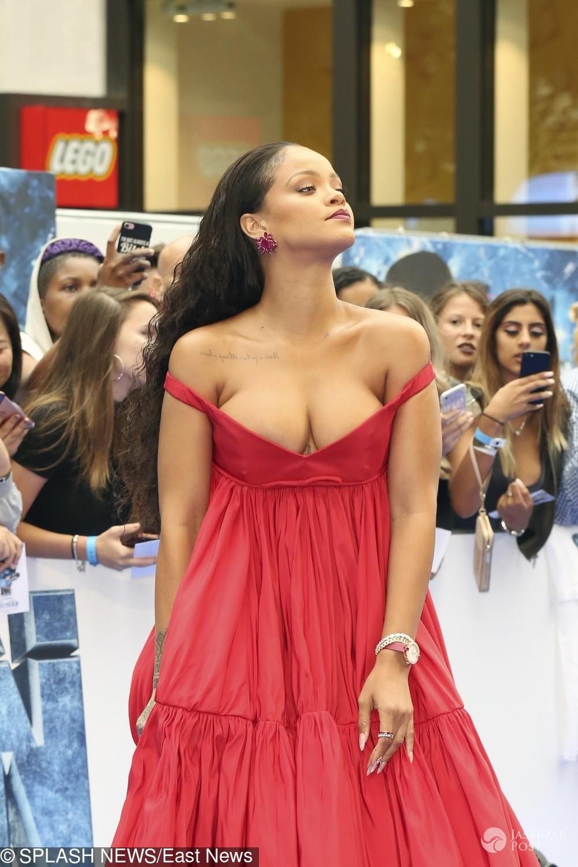 Rihanna na premierze filmu Valerian