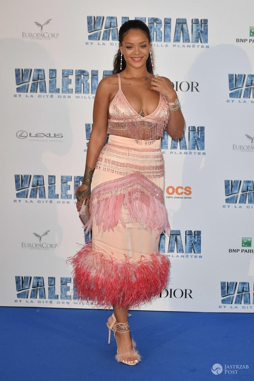 Rihanna na premierze Valeriana we Francji