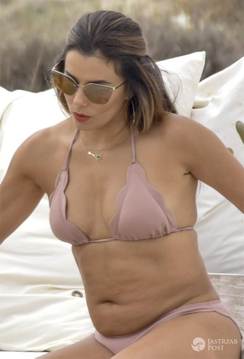 Eva Longoria w bikini polskiej marki na Ibizie