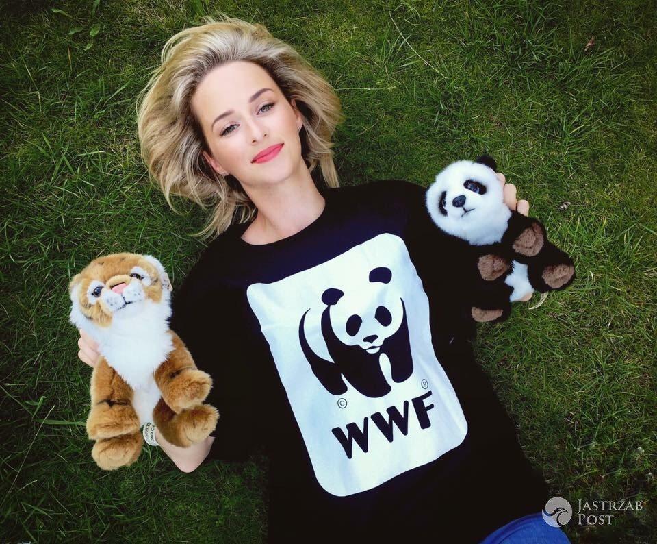 Ula Dębska wspiera Światowy Dzień Tygrysa (WWF Polska)