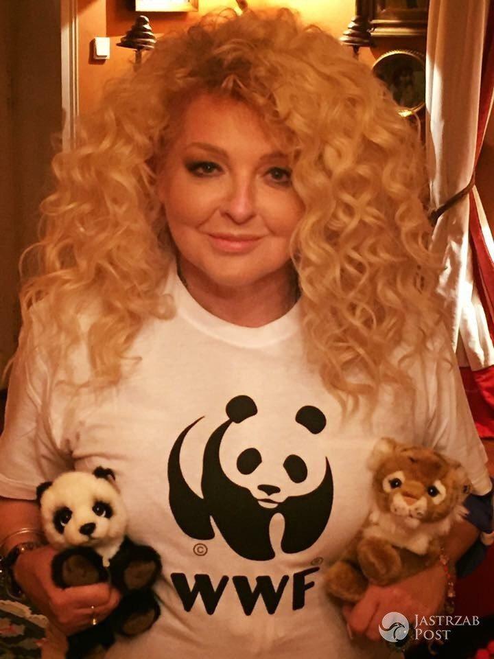 Magda Gessler wspiera Światowy Dzień Tygrysa (WWF Polska)