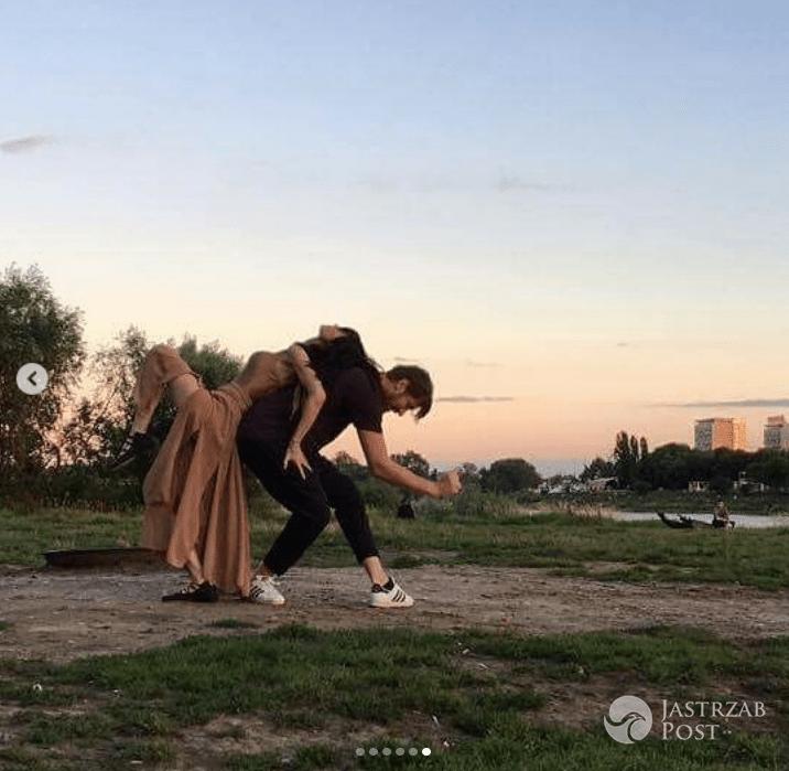 Viola Kołakowska i Robert Kochanek tańczą w jej 40. urodziny