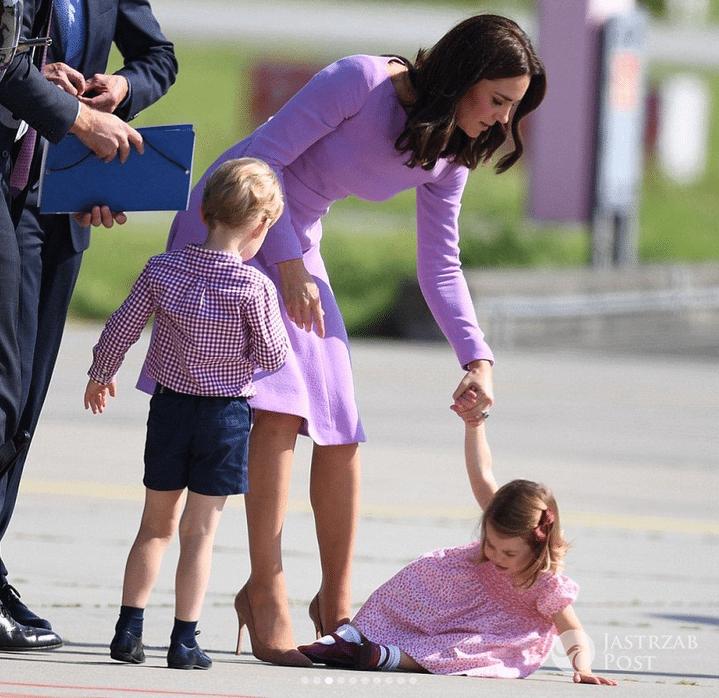 Księżniczka Charlotte przewróciła się w Niemczech