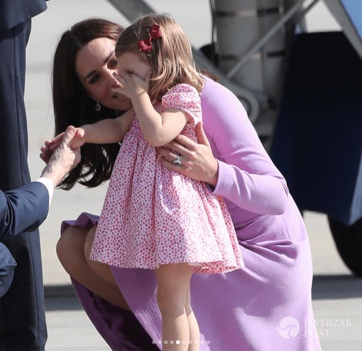 Zapłakana księżniczka Charlotte w Niemczech