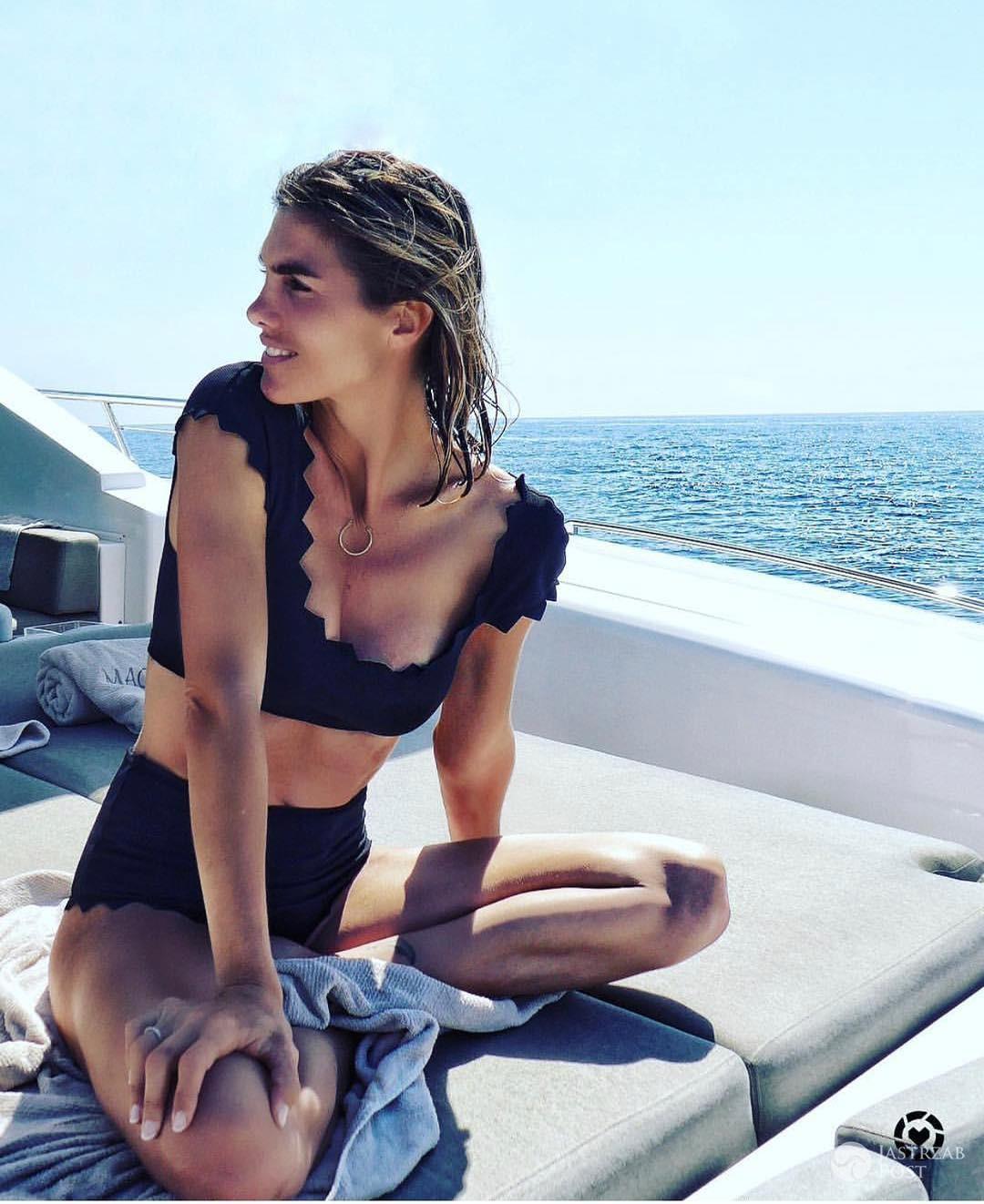 Delfina Blaquier w bikini polskiej marki Marysia