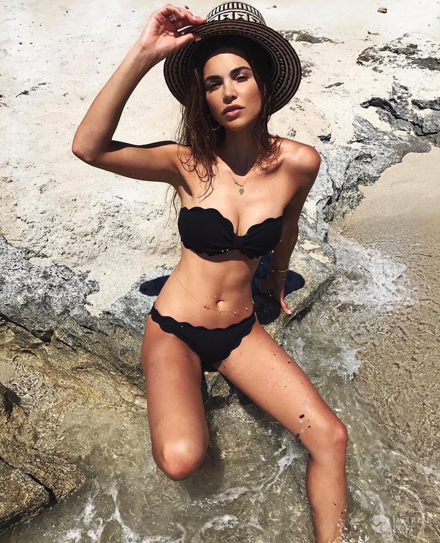 Negin Mirsalehi w bikini polskiej marki Marysia