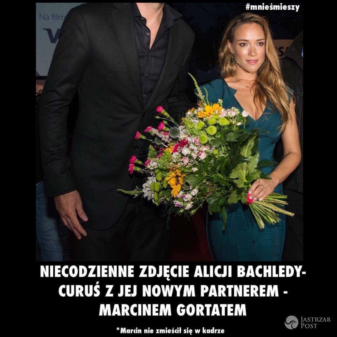 Marcin Gortat i Alicja Bachleda-Curuś razem mem Mnie śmieszy