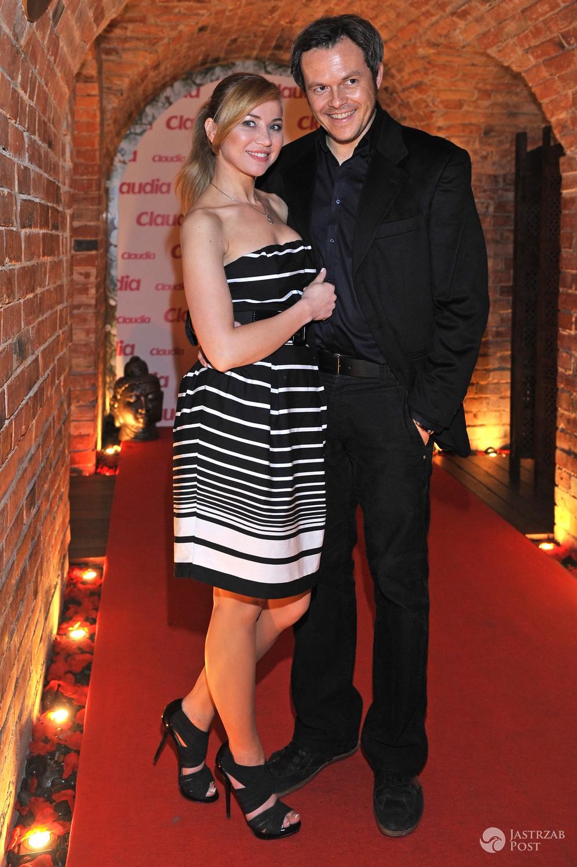 Lidia Kopania z mężem (Igor Przebindowski)