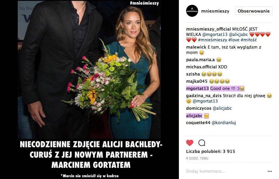 Alicja Bachleda-Curuś i Marcin Gortat skomentowali wspólne zdjęcie