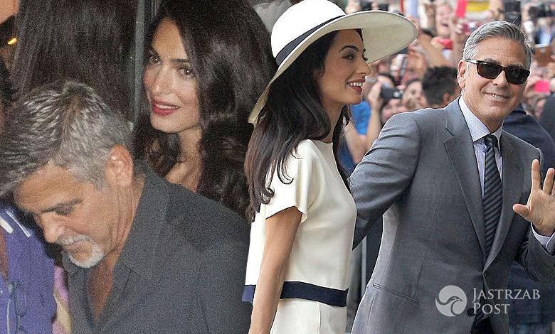 Amal Clooney i George paparazzi