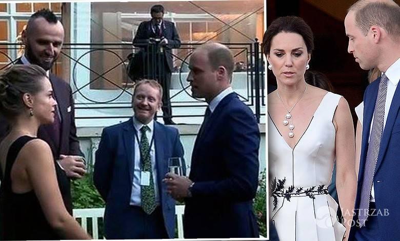 Alicja Bachleda-Curuś na spotkaniu z książęcą parą