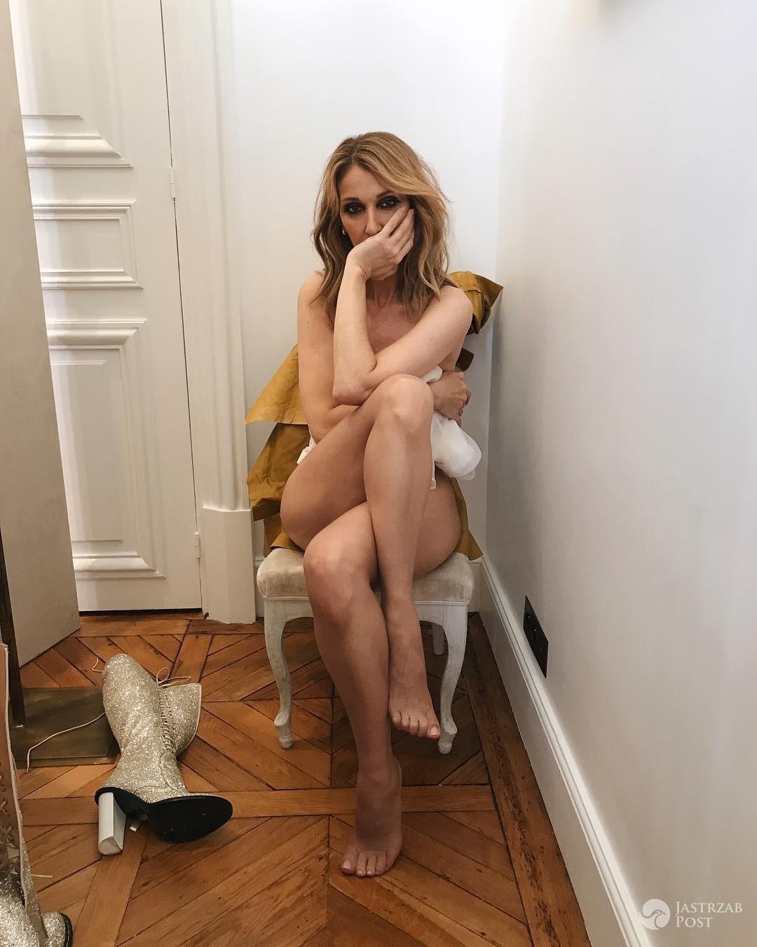 Celine Dion nago