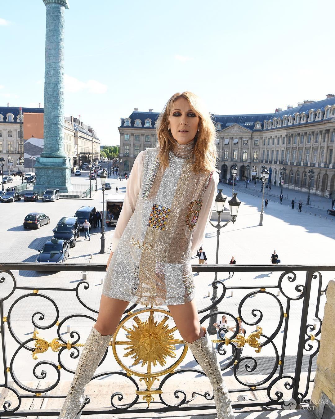 Celine Dion w Vogue