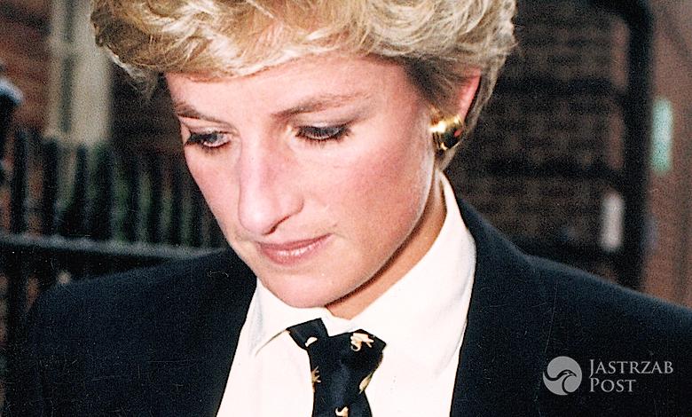 księżna Diana smutna, choroba