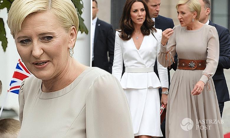 Agata Duda i księżna Kate ocena stylizacji