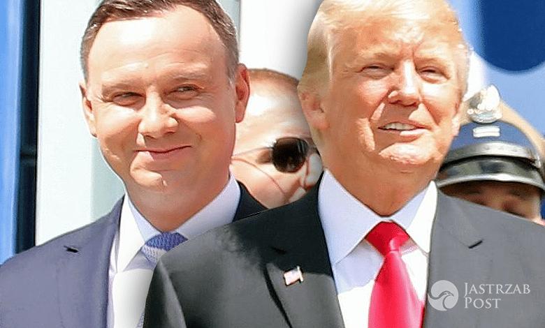 Donald Trump, Andrzej Duda, prezenty