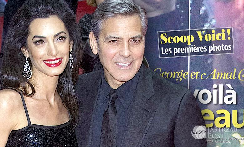 George Amal Clooney, pierwsze zdjęcia bliźniąt